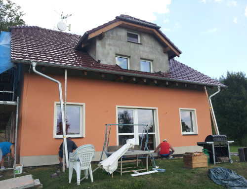 Povrchová úprava fasády